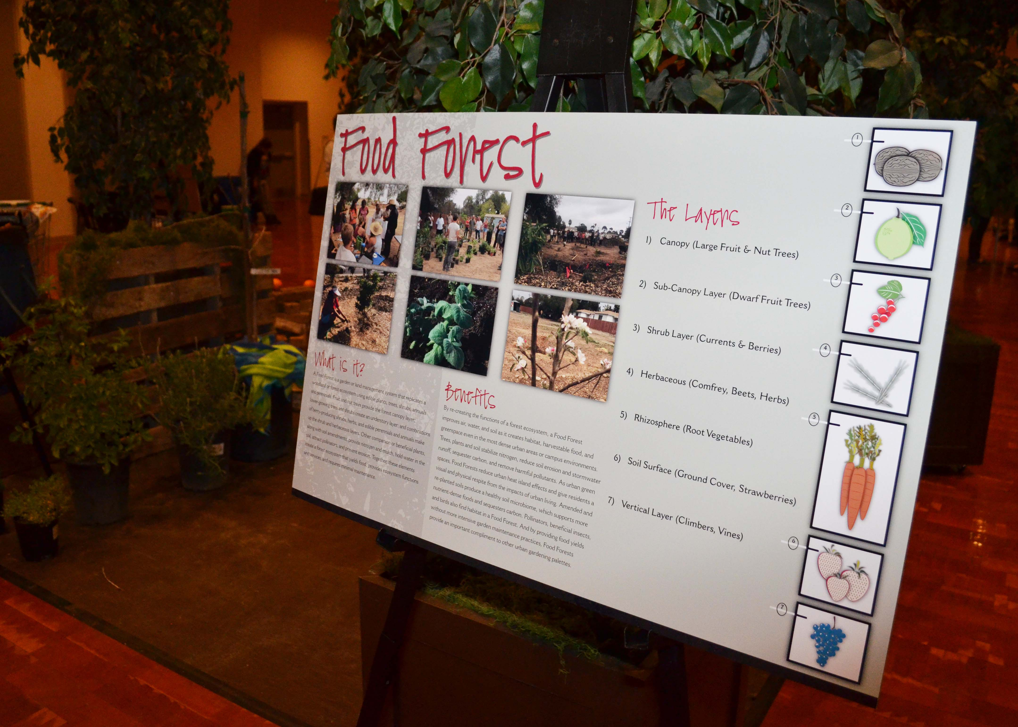 Food Forest Exhibit