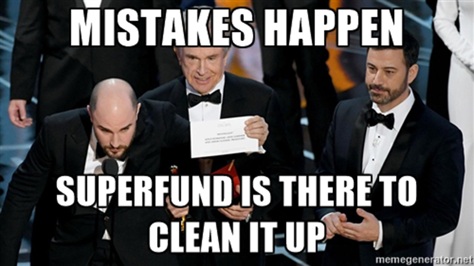 Superfund Research Center Meme made with UC Comm Department
