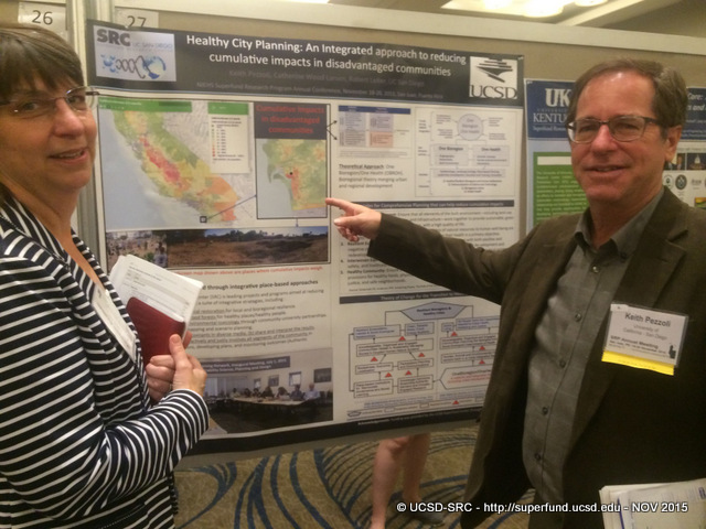 Keith Pezzoli presnting poster at SRP 15 MTG