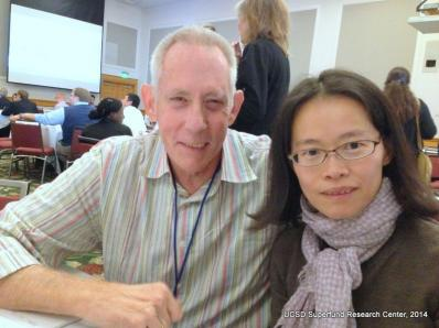 Drs. Robert Tukey and Mei-Fei Yueh at the 2014 SRP Meeting