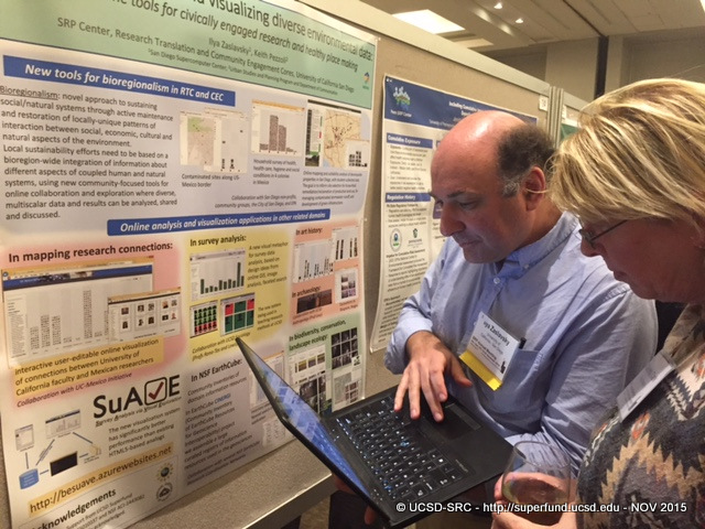 Iyla Zaslavsky presents poster at SRP 15 MTG