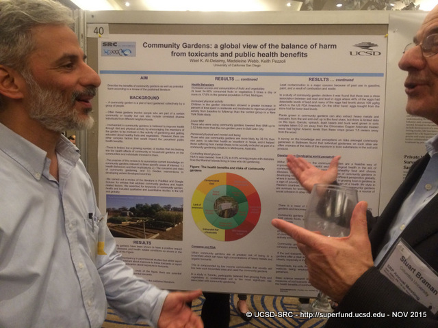 Wael Al-Delaimy poster at SRP 15 MTG